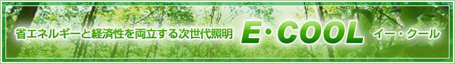 省エネルギーと経済性を両立する次世代照明 E・COOL